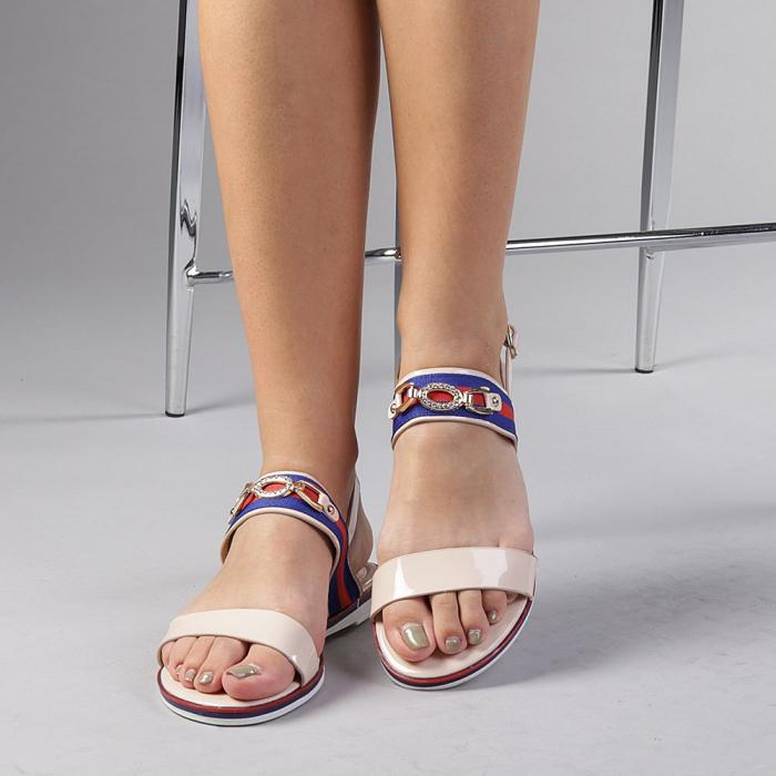 Sandale dama Lucila bej 0