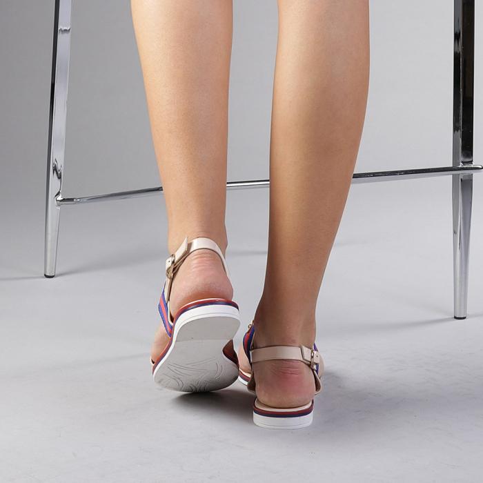 Sandale dama Lucila bej 3