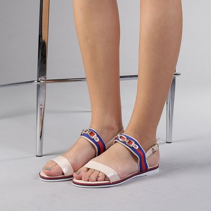 Sandale dama Lucila bej 2