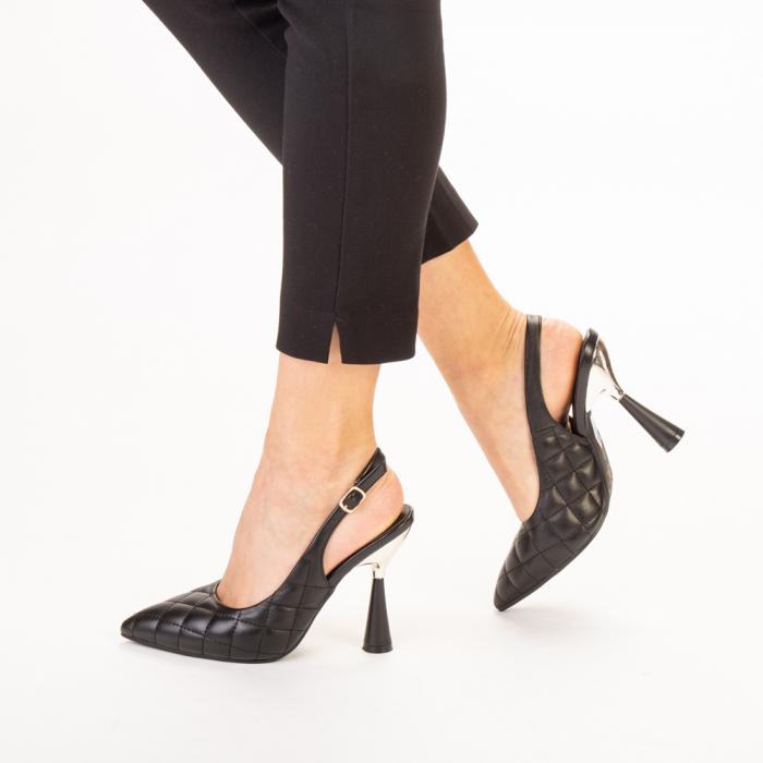 Sandale dama Sahar negre 2