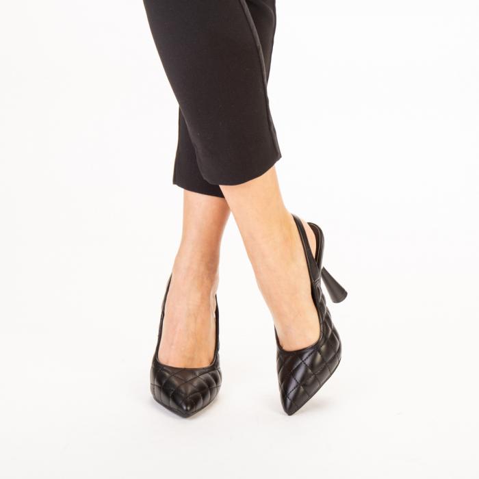 Sandale dama Sahar negre 1