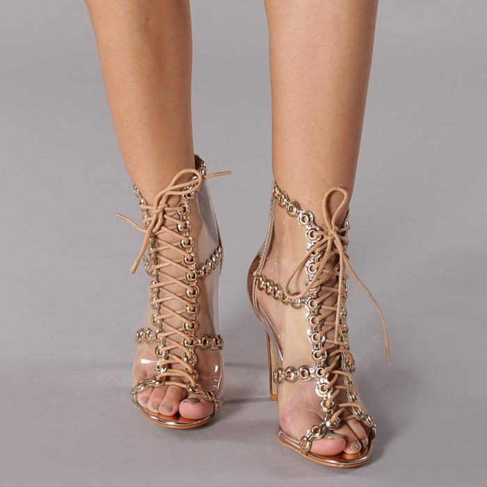 Sandale dama Valerie sampanie 1