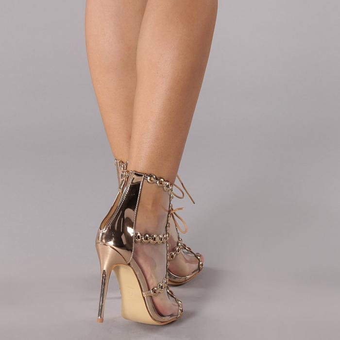 Sandale dama Valerie sampanie 2