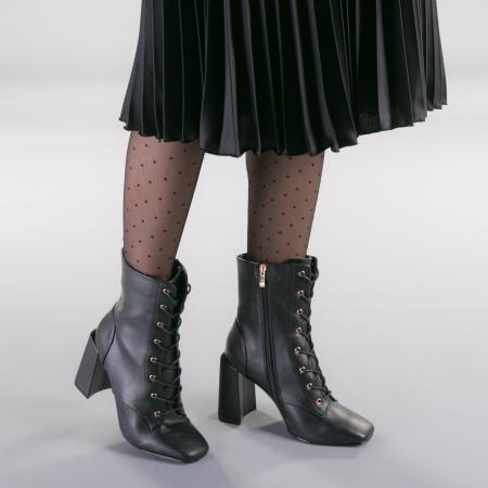Botine dama Patrias negre1