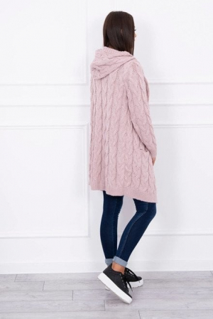 Cardigan roz pudra EL131