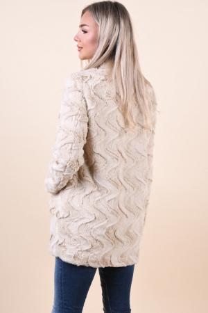 Jacheta dama vero moda cu blanita si guler inalt [2]