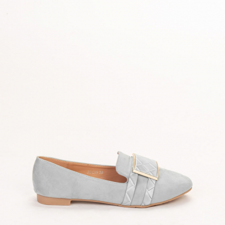 Mocasini dama Velvet bleu0