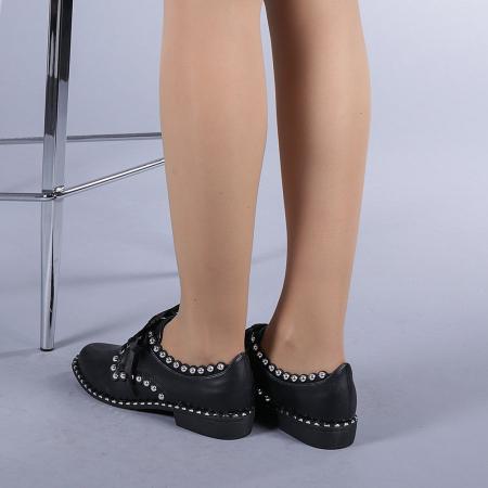 Pantofi casual dama Arabella negri3
