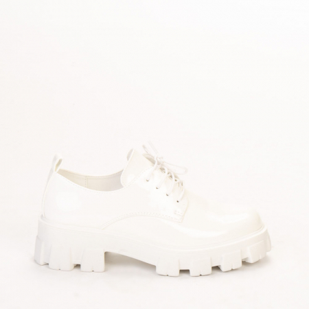 Pantofi casual dama Avona albi0