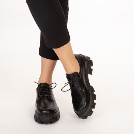 Pantofi casual dama Regan negri1