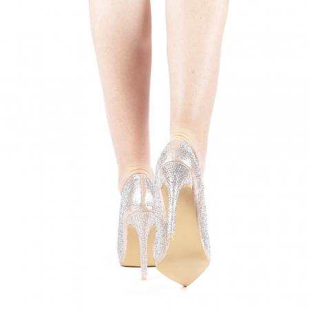 Pantofi dama Adripo aurii3