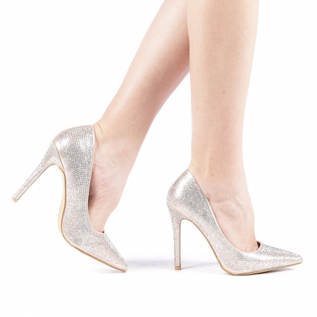 Pantofi dama Adripo aurii0