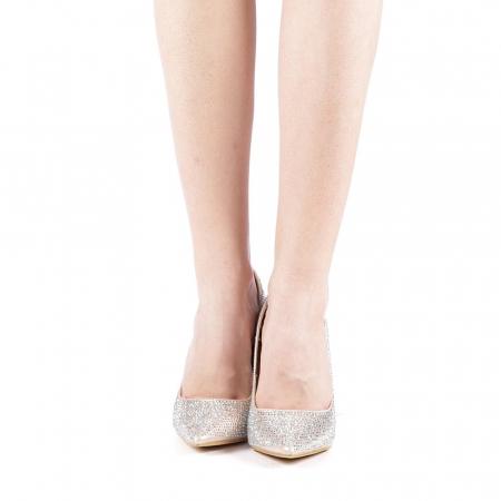 Pantofi dama Adripo aurii4