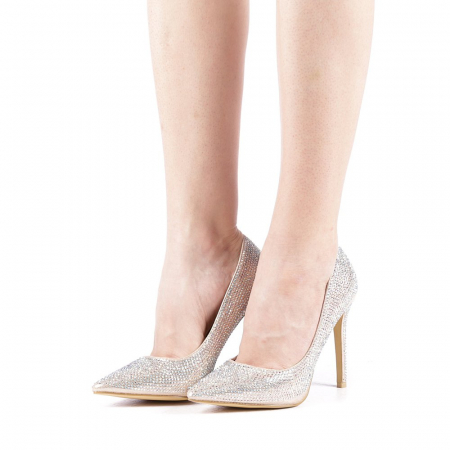 Pantofi dama Adripo aurii2