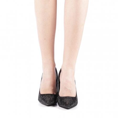 Pantofi dama Adripo negri4
