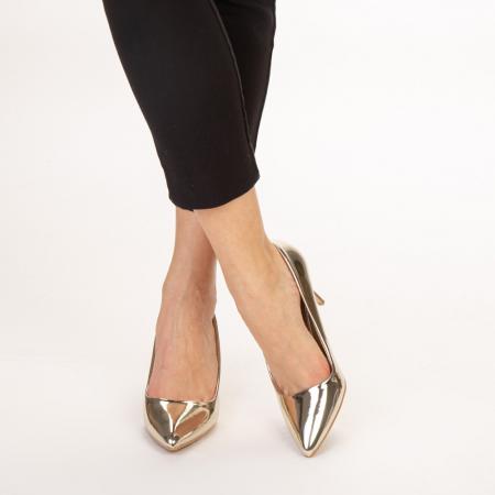 Pantofi dama Avice aurii1