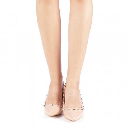 Pantofi dama Bhavna roz3