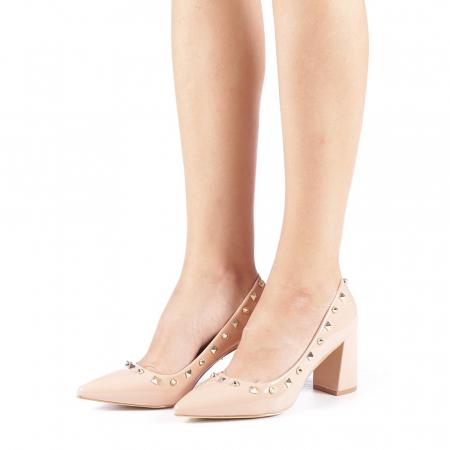 Pantofi dama Bhavna roz1