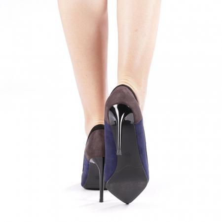Pantofi dama Casandra gri2