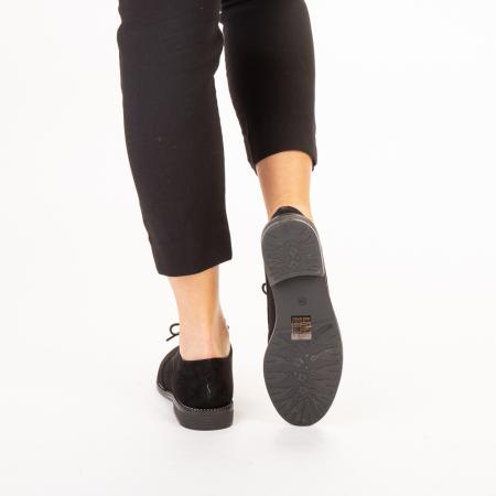 Pantofi dama casual Dollie negri3