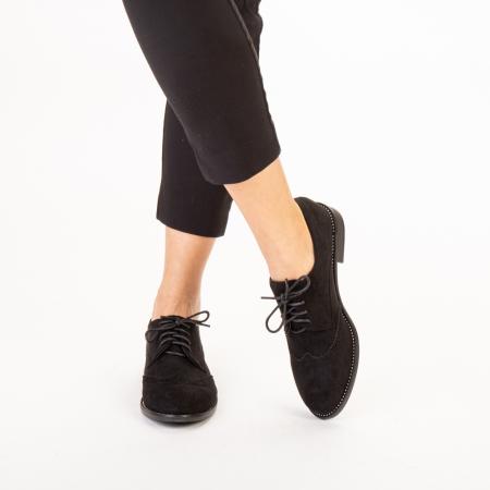 Pantofi dama casual Dollie negri1