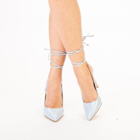 Pantofi dama Davina bleu0