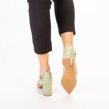 Pantofi dama Dayna verzi3