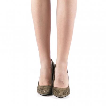 Pantofi dama Dena verzi4