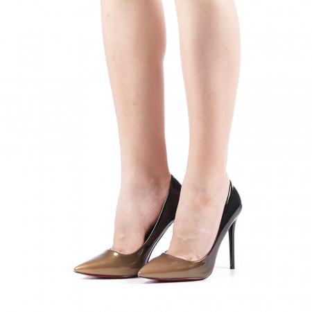 Pantofi dama Dillon aurii2