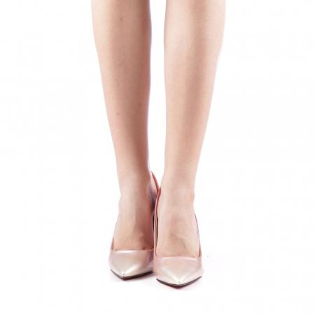 Pantofi dama Dillon roz4