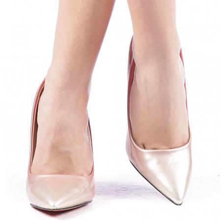 Pantofi dama Dillon roz1