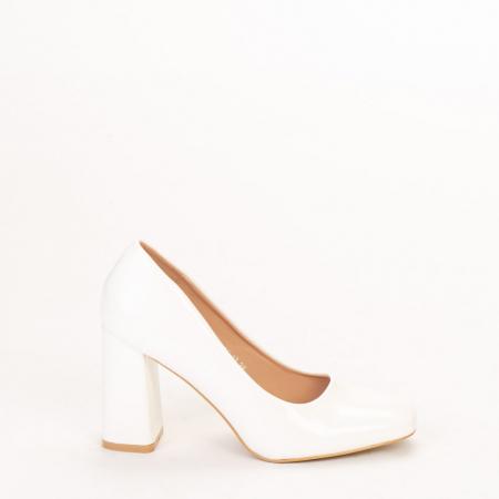 Pantofi dama Eloisa albi0