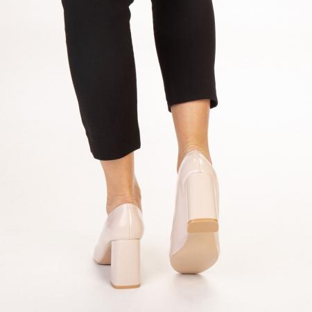 Pantofi dama Eloisa bej3