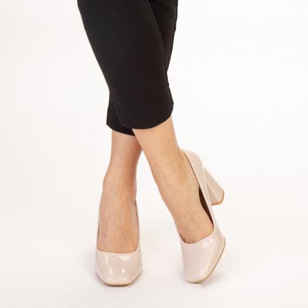 Pantofi dama Eloisa bej1