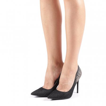 Pantofi dama Erica negri1
