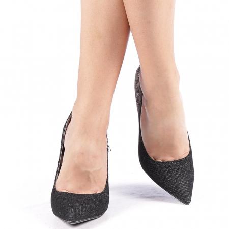 Pantofi dama Erica negri4