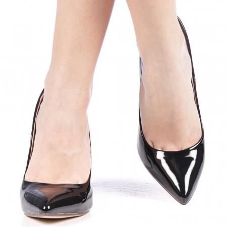Pantofi dama Exoca negri1