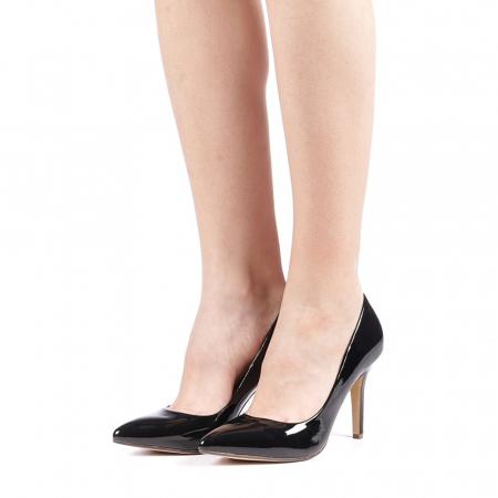 Pantofi dama Exoca negri2