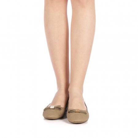 Pantofi dama Gheraso khaki4