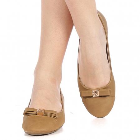 Pantofi dama Gheraso maro1