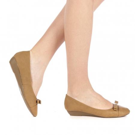 Pantofi dama Gheraso maro0