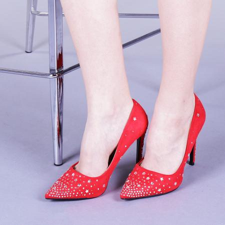 Pantofi dama Jasmine rosii0