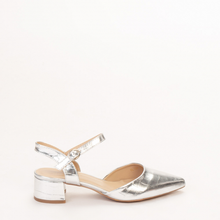 Pantofi dama Leela argintii0