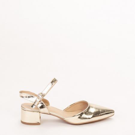 Pantofi dama Leela aurii0