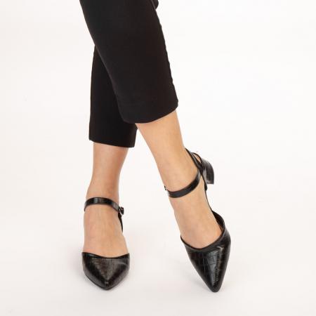 Pantofi dama Leela negri1