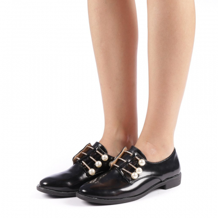 Pantofi dama Meliora negri1