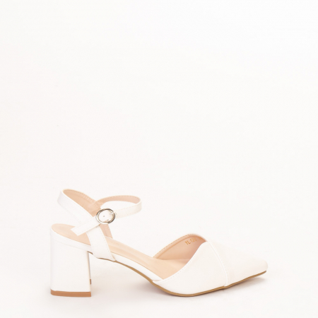 Pantofi dama Naden albi0