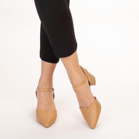Pantofi dama Naden maro1