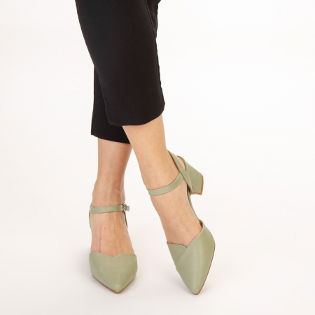Pantofi dama Naden verzi1