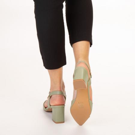 Pantofi dama Naden verzi3